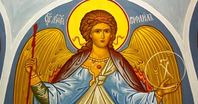 лик святого Рафаила