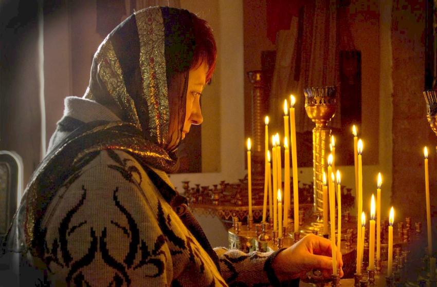 молитва в храме во сне