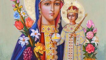 Чудотворный лик Богородицы «Неувядаемый цвет» и молитва к нему